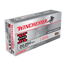 Winchester Jacketed soft point kal. 22-250 55 gr.