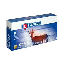 Lapua Soft point kal. 222 rem. 3,6 g