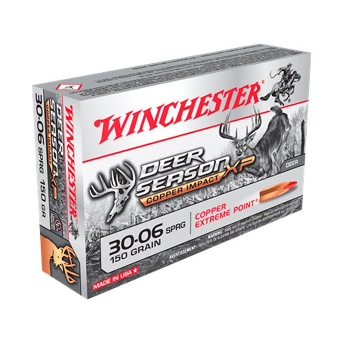 Winchester Deer Season XP Copper impact kal. 30-06 150 gr.