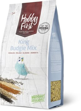 Hoppy First King Budgie (undulat) Mix - 1 kg.
