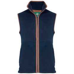 Alan Paine Aylsham Herre Vest - Dark Navy
