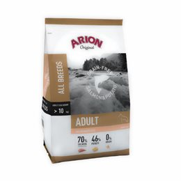 Arion Grain Free Salmon (Laks) & Potato 12 kg.