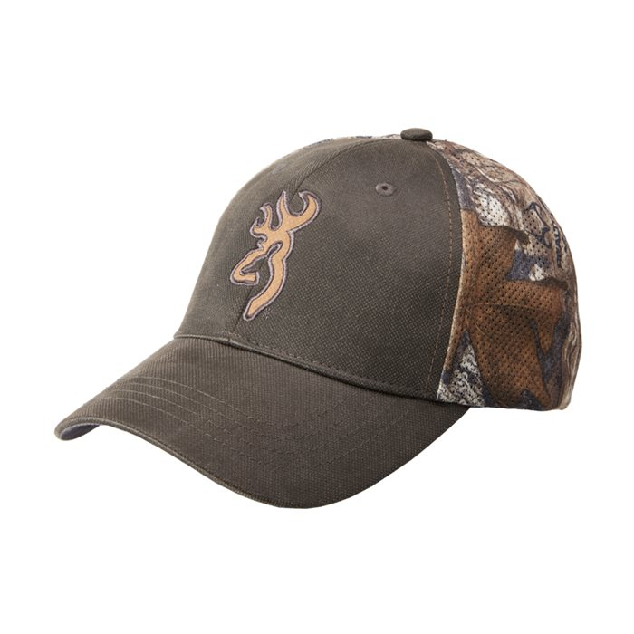 Browning brown buck cap