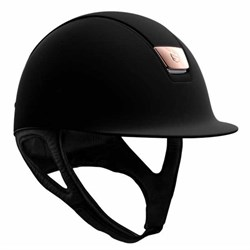 Samshield Shadowmatt - sort/matt black trim/rosegold