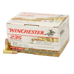Winchester 235 rounds 22 lr, 36 grain