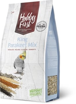 hoppy first king parakeet mix