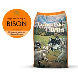 Taste of the Wild - High Prairie Puppy 12,2 kg | Lundemøllen ✓