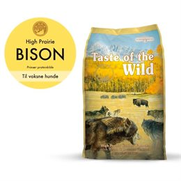 Taste of the Wild - High Prairie 12,2 kg | Lundemøllen ✓