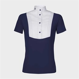 "Cavalleria Toscana junior showshirt ""Bib"" - navy"