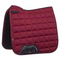 LeMieux Dressage Carbon Mesh Air underlag - mulberry