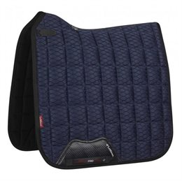 LeMieux Dressage Carbon Mesh Air underlag - navy