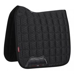 LeMieux Dressage Carbon Mesh Air underlag - sort
