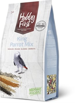 Hoppy First King Parrot Mix - 3 kg.