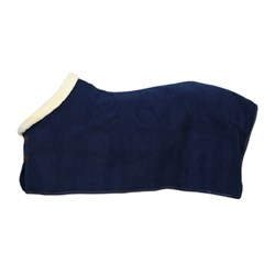 "Kentucky dækken ""Fleece Show Rug Heavy"" - navy"