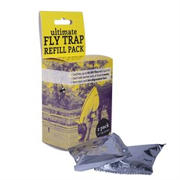 Ultimate Fly Trap refill til fluefælde 2-pak