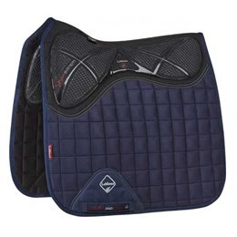 LeMieux Dressage X-Grip Twin Sided Luxury underlag - navy