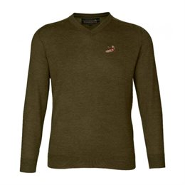 Seeland Noble pullover - Pine Green