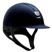 Samshield Shadowmatt i navy med Crystal Fabric Royal Blue