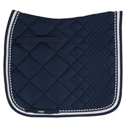 Catago diamond sadelunderlag navy hvid