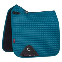 LeMieux Dressage Luxury underlag - peacock green