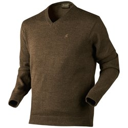 Seeland Essex sweater - faun brown