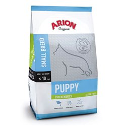 Arion Puppy Small Breed Chicken & Rice 7,5 kg.
