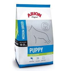 Arion Puppy Medium Breed Chicken & Rice 12 kg.