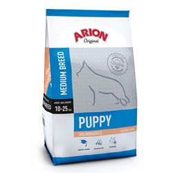 Arion Puppy Medium Breed Salmon & Rice 12 kg.