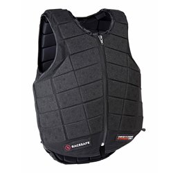 Racesafe sikkerhedsvest PROVENT 3.0 - sort JUNIOR