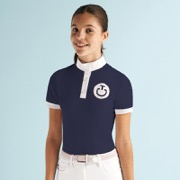 "Cavalleria Toscana junior polo ""Girl's Flock"" - navy"