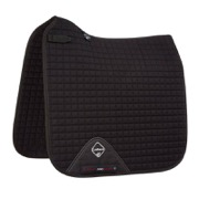 LeMieux Dressage Cotton underlag - sort