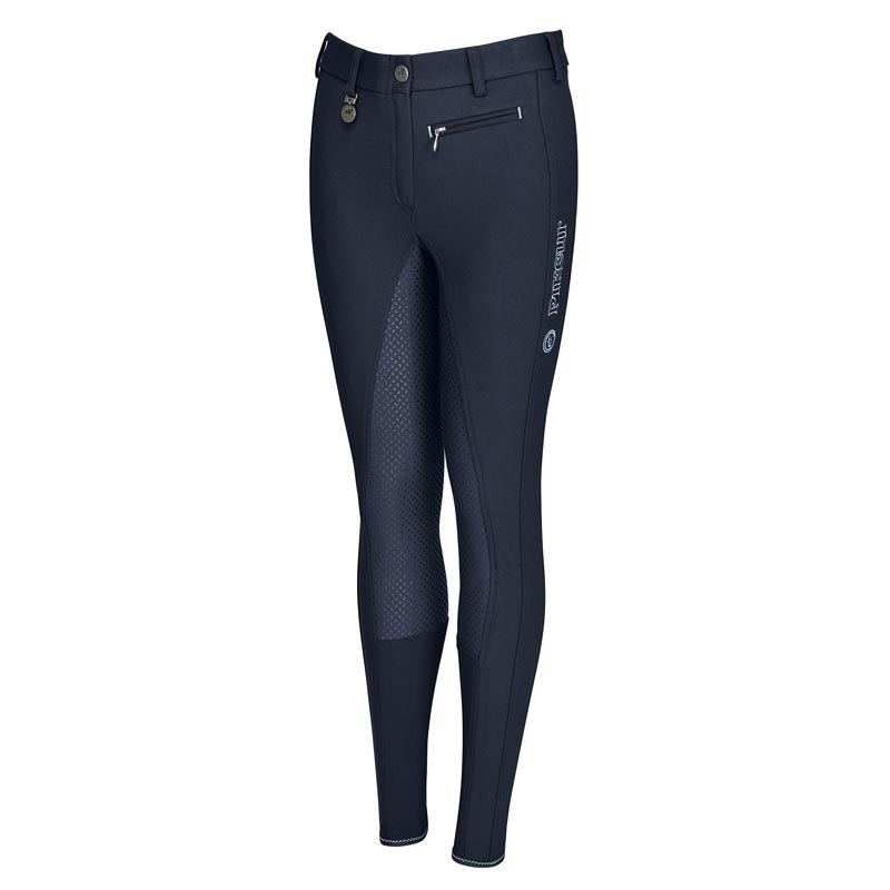 "Pikeur junior ridebukser ""Lucinda Girl Slim Grip"" - navy"