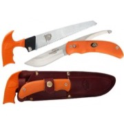 Outdoor Edge Swingblade PAK, jagtkit med kniv og sav - orange