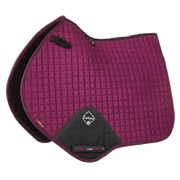 LeMieux Jumping Luxury underlag - plum