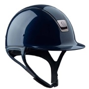 Samshield Shadow Glossy - navy/black chrome