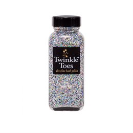 Twinkle Toes hovlak m. glitter - Silver